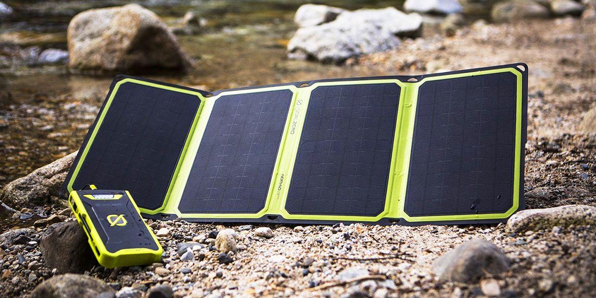 solar powered survival gear