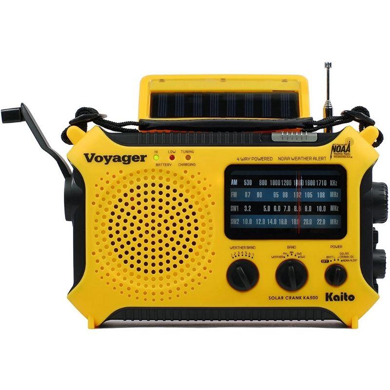 KA500 Solar Powered Radio - Kaito
