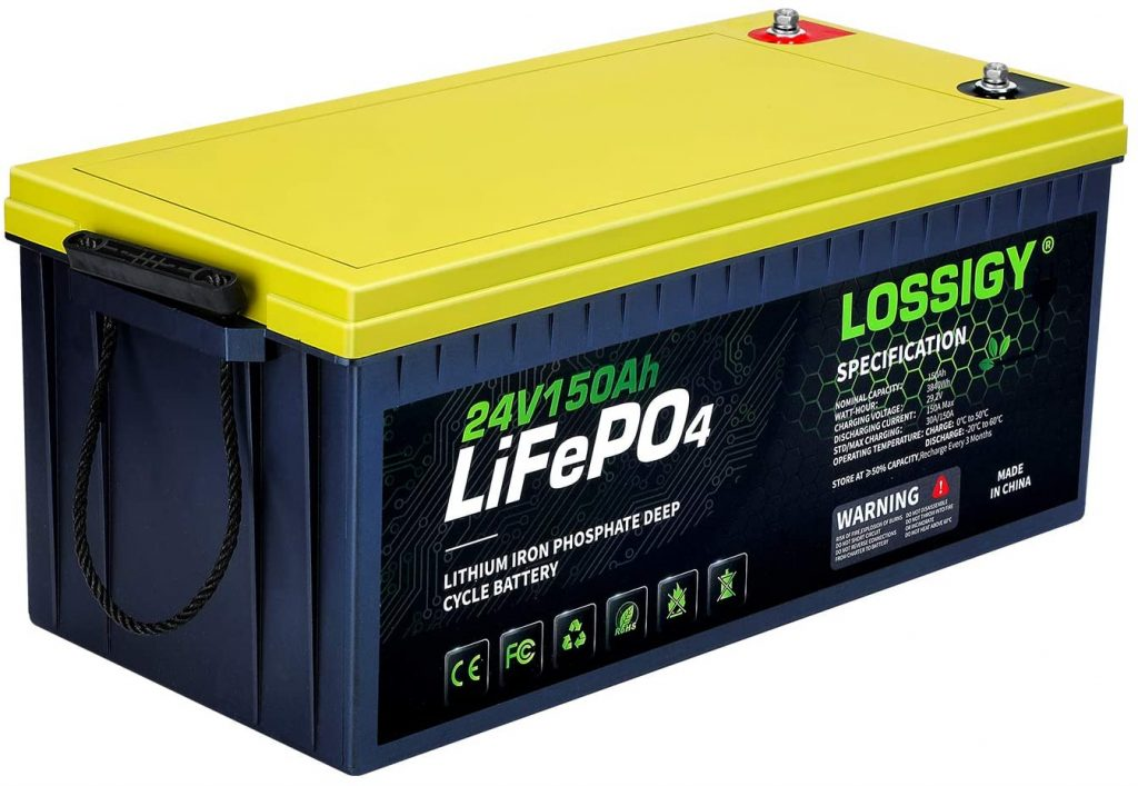 Lithium campervan battery