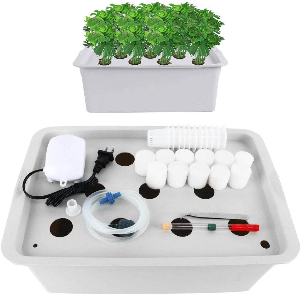 hydroponic kit made from PVC-U materials
