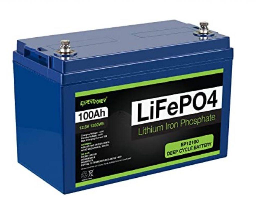 Expert Power Lithium Iron Phosphate 100Ah 12V