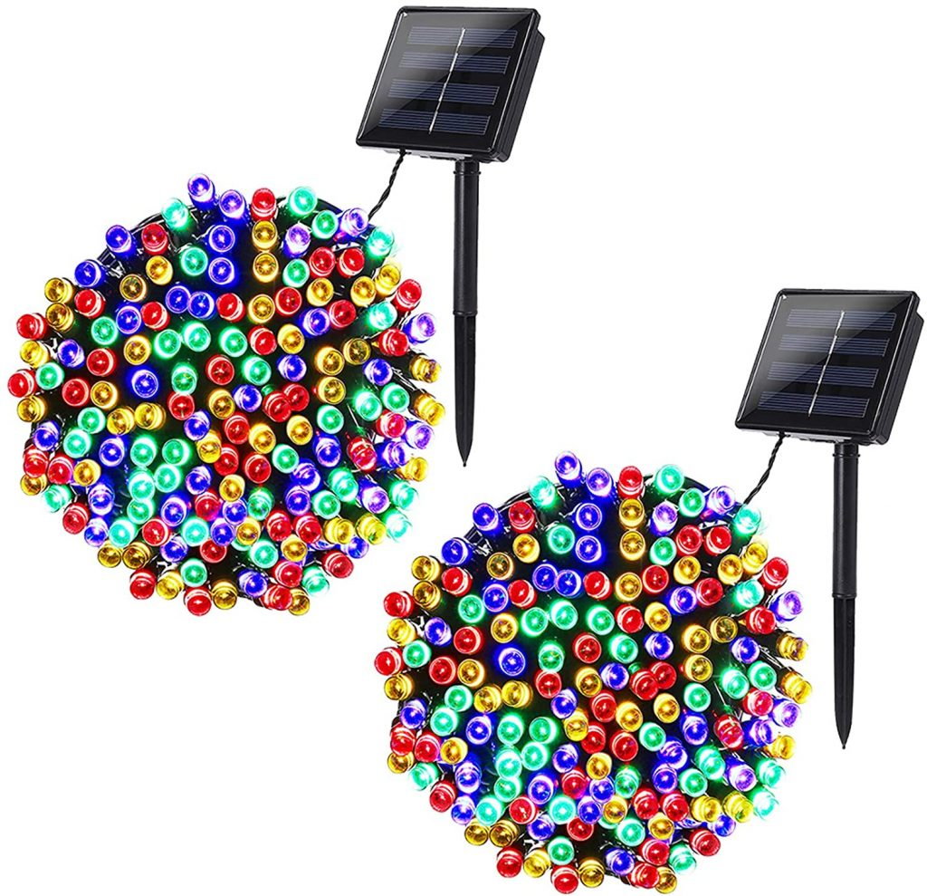 Joomer Solar Christmas Lights.