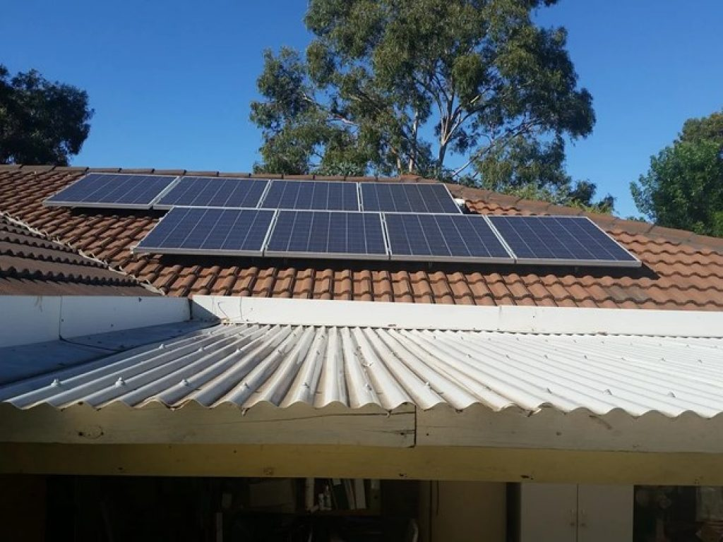 5kW solar system in South Africa