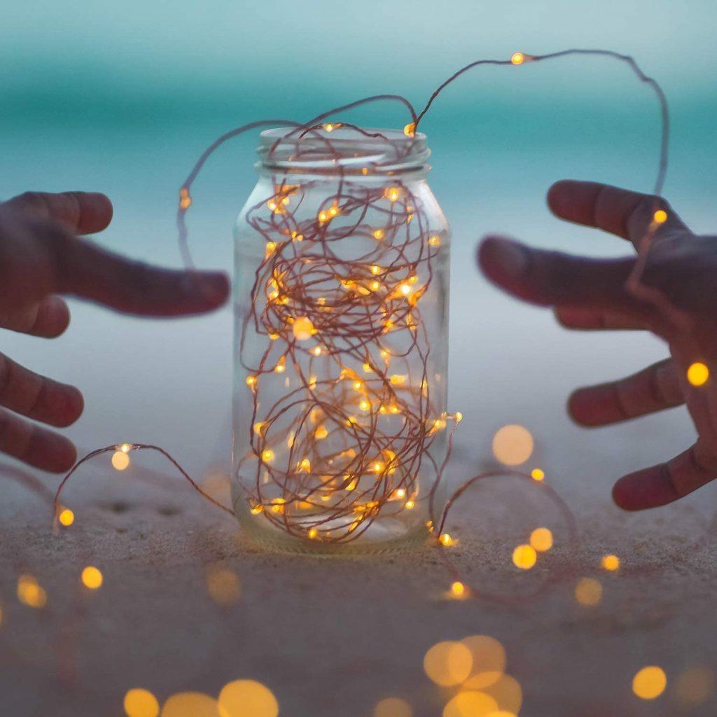 Brightown Solar string lights-lighting in a bottle