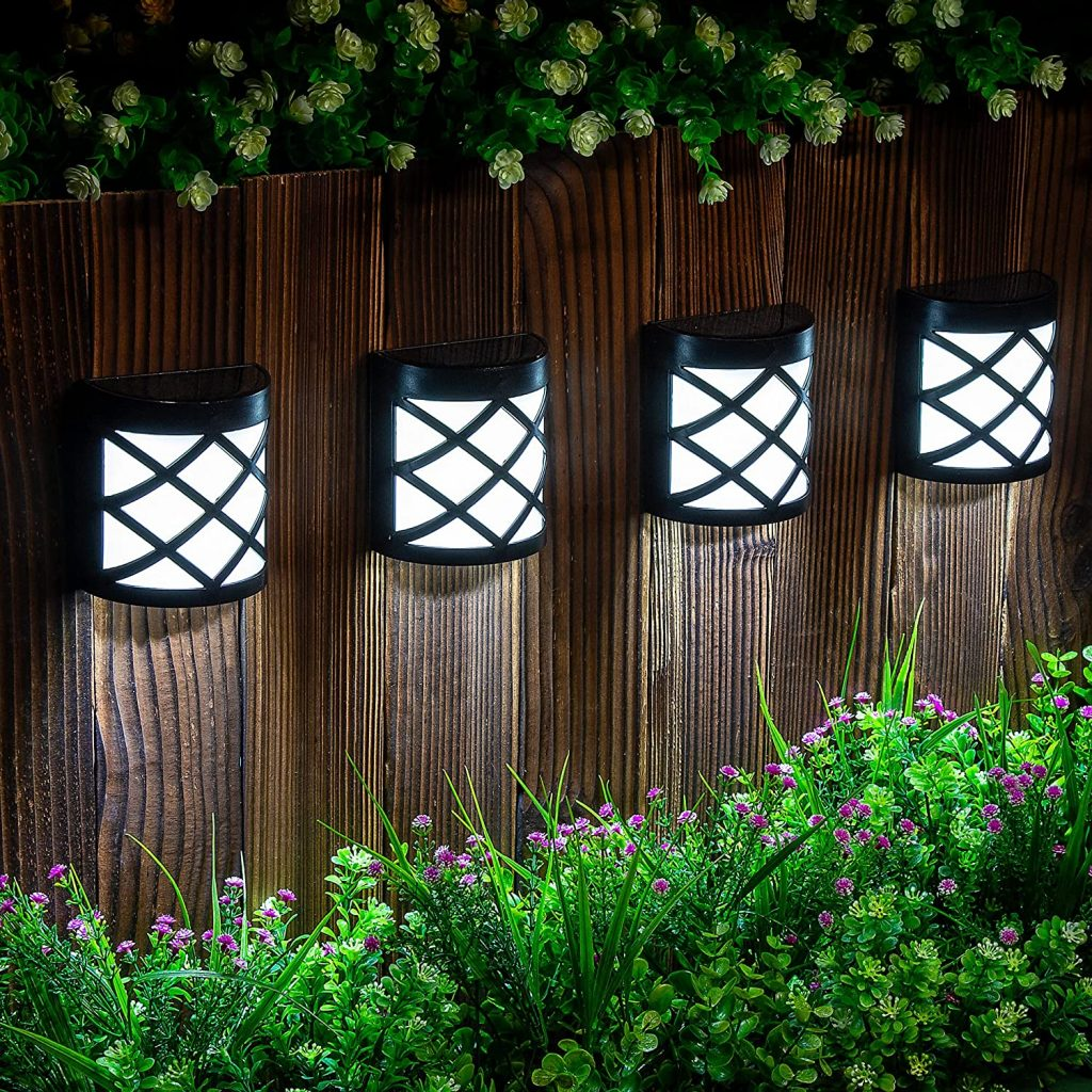 Gigalumi solar deck lights