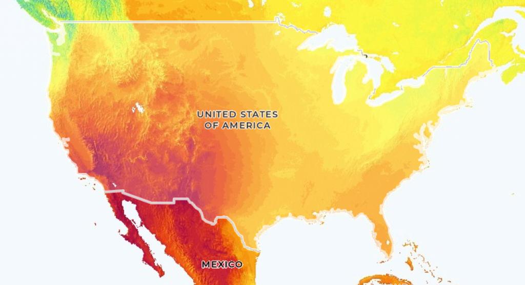 HSI solar irradiance map