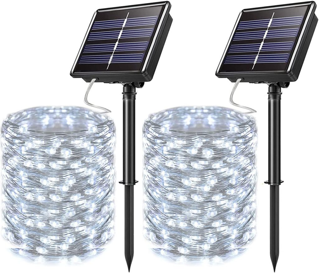 JosMega Solar Fairy String Lights