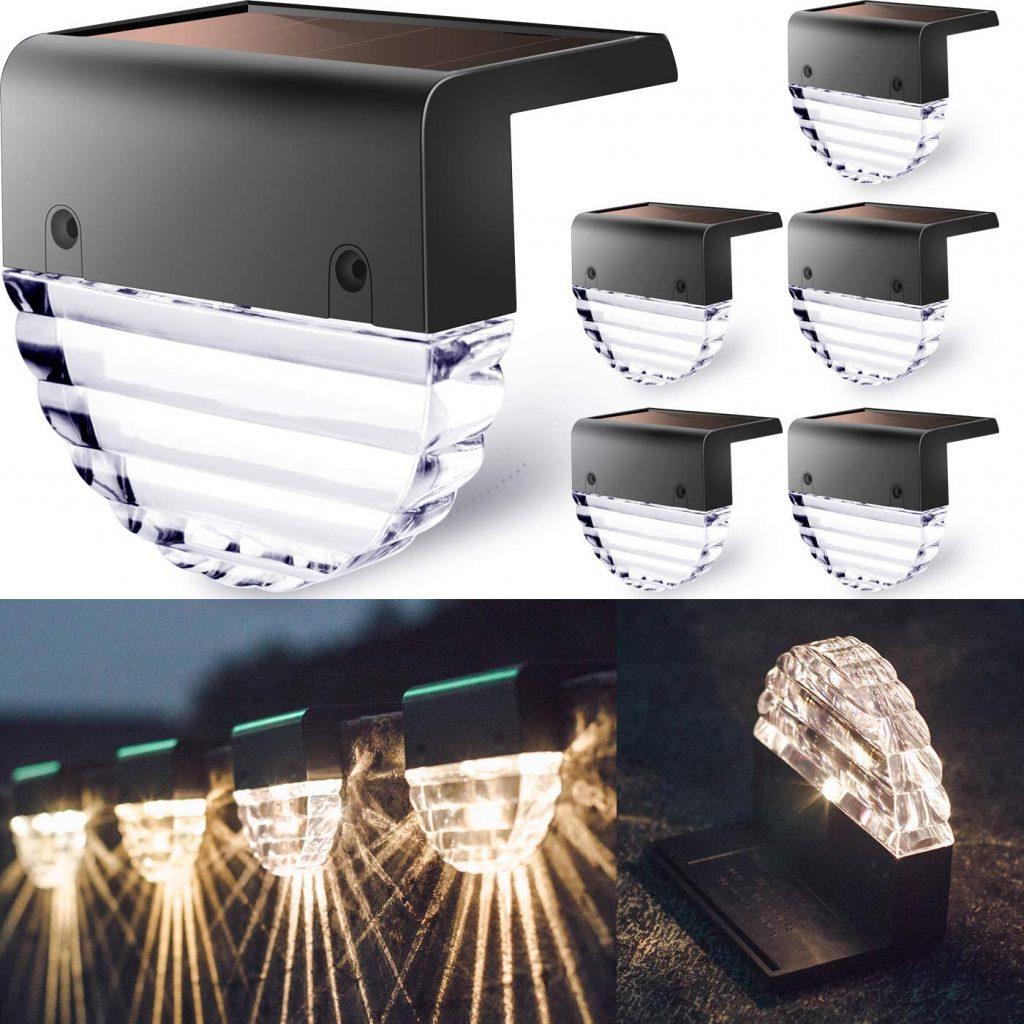 TIJNN Solar Deck Lights