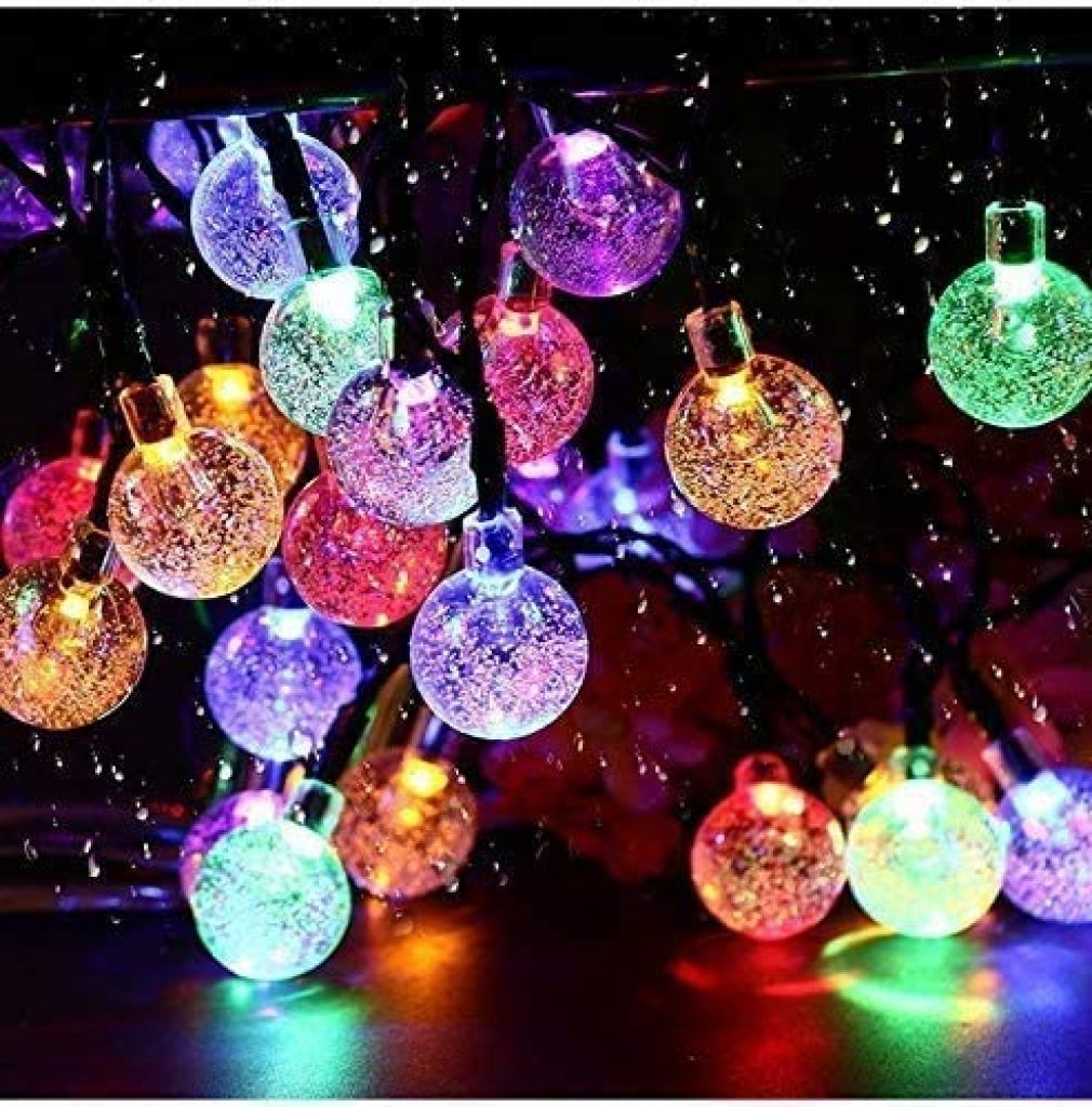 A collection of colorful UPOOM lights