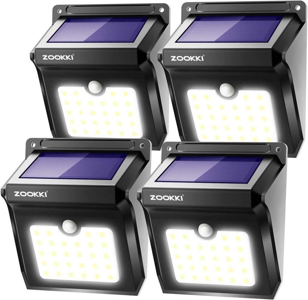 ZOOKKI Solar Deck Lights
